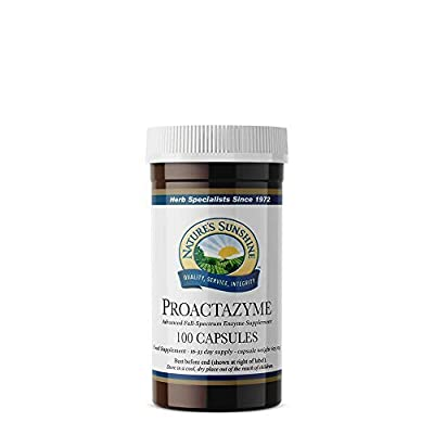 Nature's Sunshine Proactazyme (plant sourced enzymes) (100)