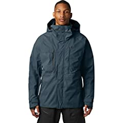 ALL-WEATHER JACKET: The two-layer waterproof shell fabric is perfect for any activity in a wide range of conditions, providing protection and warmth from the winter snow. HELMET-COMPATIBLE HOOD: Keep your head warm. This helmet-compatible hood offers...