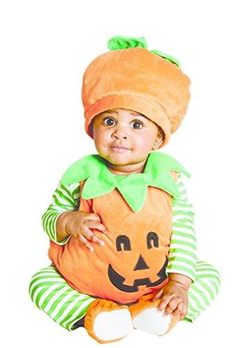 Hyde & eek Baby Infant Pumpkin Jack O Lantern Costume- Vest Shirt Leggings 12/18 Months