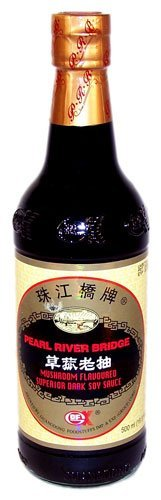 Pearl Max 61% OFF River New products, world's highest quality popular! Bridge Mushroom Flavored Sauce Superior Dark Soy