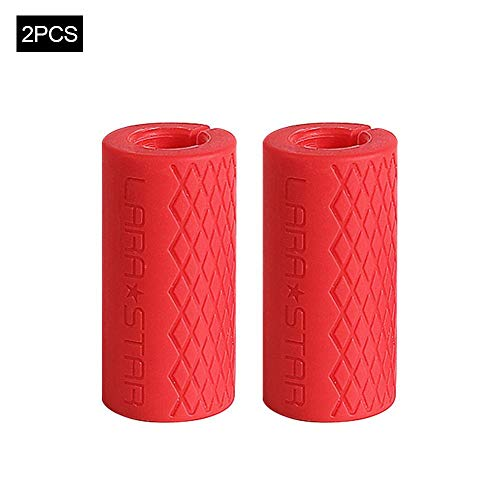 Why Should You Buy Prom-near Dumbbell Grips Silicone Anti-Slip Dumbbell and Barbell Thick Bar Adapte...