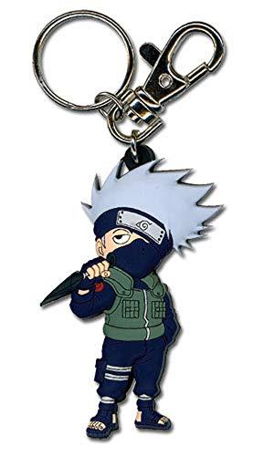 Great Eastern Entertainment Naruto Shippuden SD Kakashi PVC Keychain,2'