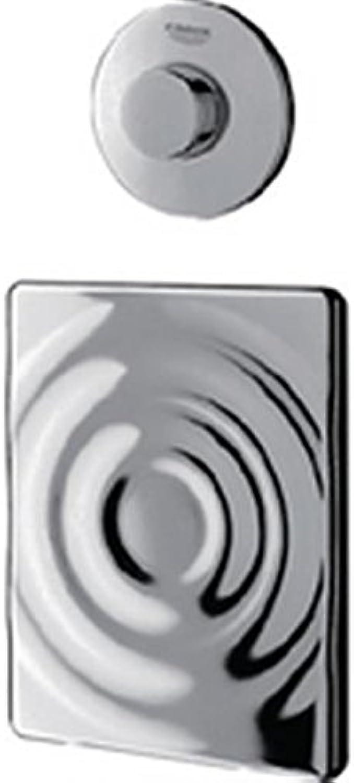 GROHE Pneumatic-Handfernbettigung 37059 Druckknopfbettigung für SK chrom