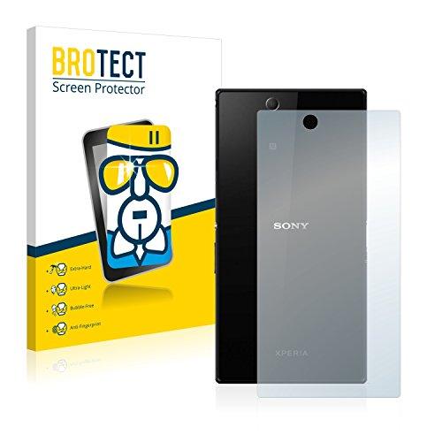 brotect Pellicola Protettiva Vetro Compatibile con Sony Xperia Z Ultra C6833 (Posteriore) Schermo Protezione, Estrema Durezza 9H, Anti-Impronte