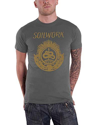 Soilwork Snake (Charcoal) T-Shirt M