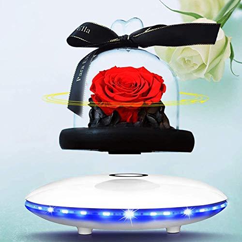 LLSS Schwebender Bluetooth-Lautsprecher, Bluetooth-Lautsprecher, mit LED-Basis, Bluetooth-Lautsprecher Wireless Floating Zuhause, Bürodekoration, einzigartige