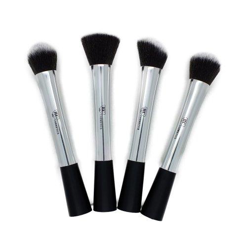 Premium Platinum Kabuki Brush Set F…