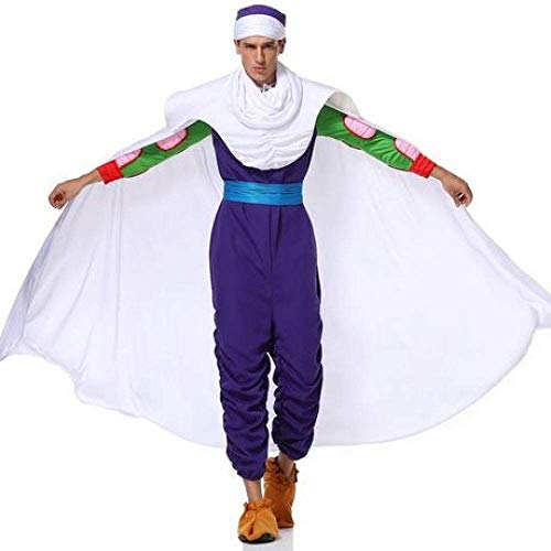 XIAOXIAO Halloween-Kostüme, Bick Big Devil Anime Kostüm Piccolo Teufel-Kostüm-Spiel-Uniform Cosplay Make-up Halloween-Partei-Kostüm,L