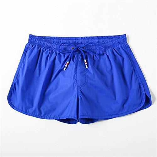 Badeanzug Push Up Pad Herren Badeshorts for Männer Badehose Strand-Kurze Hosen Schnell Trocken Badeanzug Man Surf (Color : Royal Blue, Size : 3XL)