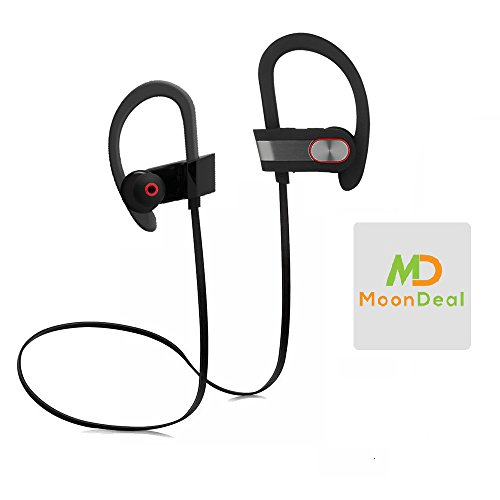 %29 OFF! Wireless Sport Bluetooth Headset, Lightweight, Sweatproof, EarHook, for Running, Talking & ...