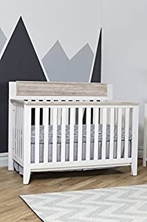 Suite Bebe Hayes 4 in 1 Convertible Crib White/Natural