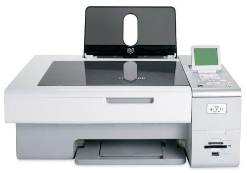 Lexmark X4850 Inyección de Tinta 10 ppm 4800 x 1200 dpi A4 WiFi - Impresora multifunción (Inyección de Tinta, Impresión a Color, 4800 x 1200 dpi, Copias en Blanco y Negro, Mono scanning, A4)