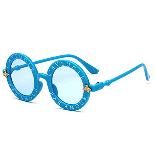 ZXTYJ Gafas de Sol extragrandes con Lentes Reflectantes y Espejo for Mujer (Color : A)