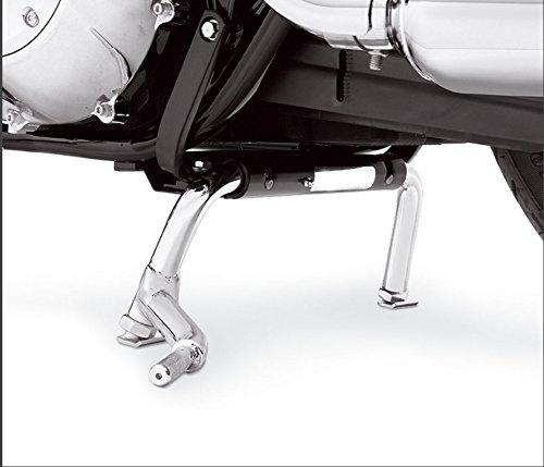 XKMT-Heavey Duty Steel Adjustable Center Stand Compatible With Harley Electra Glide Road King Road Glide FLT FLH Touring Models 1998-2008 [B01LMV85OS]