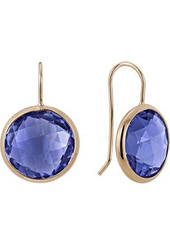 Zoccai Damen-Ohrhänger 925er Silber One Size Blau 32002651