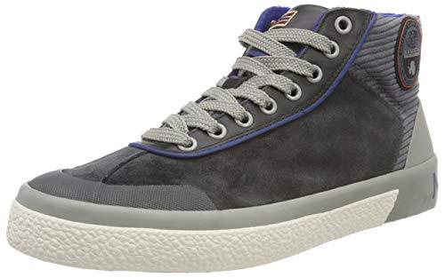Napapijri Footwear Herren Jakob Hohe Sneaker, Grau (Dark Grey N88), 40 EU