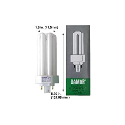 (Case of 10) Triple Twin Tube Compact Fluorescent Lamps | CFM26W/GX24Q-3/841