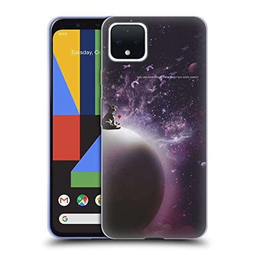 Head Case Designs Officially Licensed Klaudia Senator in The Galaxy French Bulldog 2 Soft Gel Case Compatible with Google Pixel 4