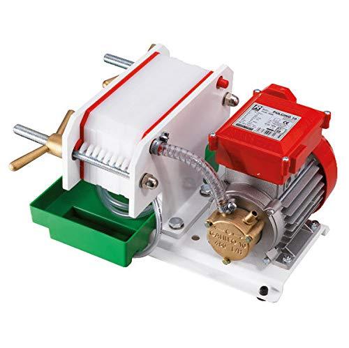 Wein/Mostfilter Pumpe Plattenfilter Pulcino 160l/h, 120-230 V