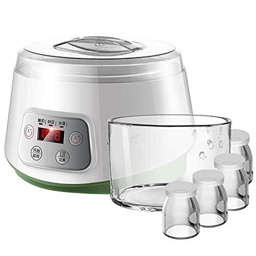 YILIAN Máquina de Yogurt, Pantalla Digital, Perfecta for Yogurt casero, Yogurt for niños, Desayuno
