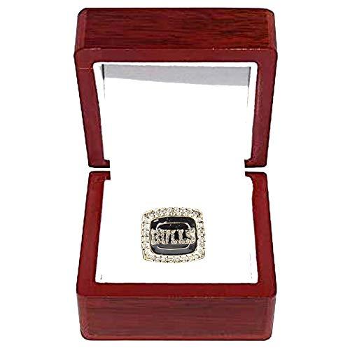 HZIH Chicago Bulls, NBA Campeonato Anillos 1992 campeones de Baloncesto Anillo de réplicas de Aficionados colección del Regalo de los Hombres de Recuerdo,with Box,11
