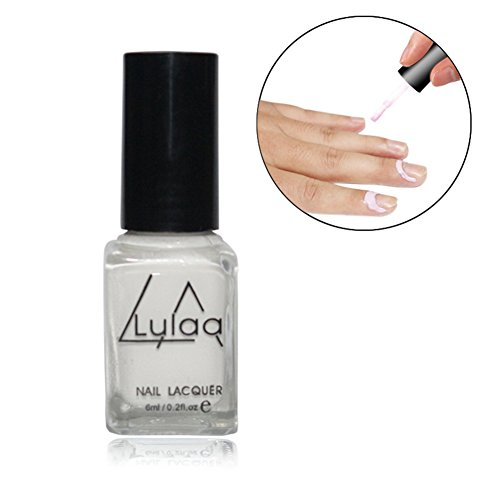 6ML Nail Art anti-overflow pegamento, Peel Off Gel de uñas borde protección ponish rebosadero Prevención de uñas arte manicura herramienta