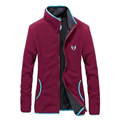 Comcrib Damen Fleecejacke Winproof Sportjacke Atmungsaktiv Warm Moutain Jacke Wanderjacke Pullover Herbst Winter