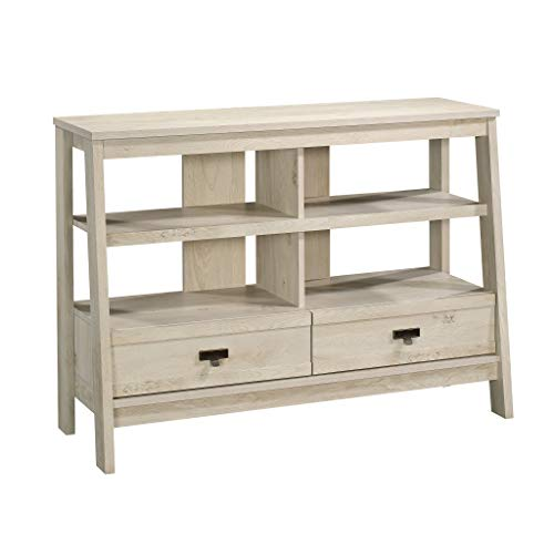 Sauder Trestle Anywhere Console, For TV's up to 42', Chalked Chestnut finish