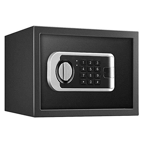 YIBOKANG Cajas fuertes del gabinete, cajas de seguridad para el hotel Seguridad en el hogar Cerradura electrónica caja fuerte con anulación mecánica, combinación digital de bloqueo seguro