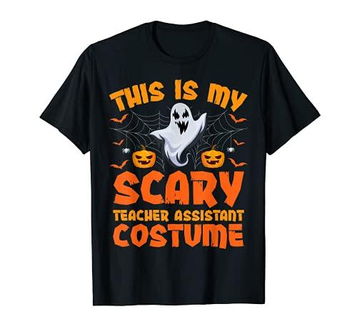 Disfraz de asistente de profesor de este es mi miedo para Halloween Camiseta