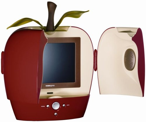 Hannspree's Red Apple 10-Inch LCD Television