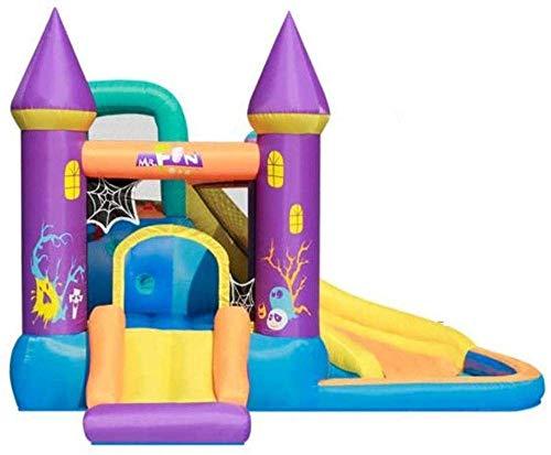 ROM Children s Large Slide Children s Outdoor Children s Playground Home Jumping Trampoline Children s Best Gifts