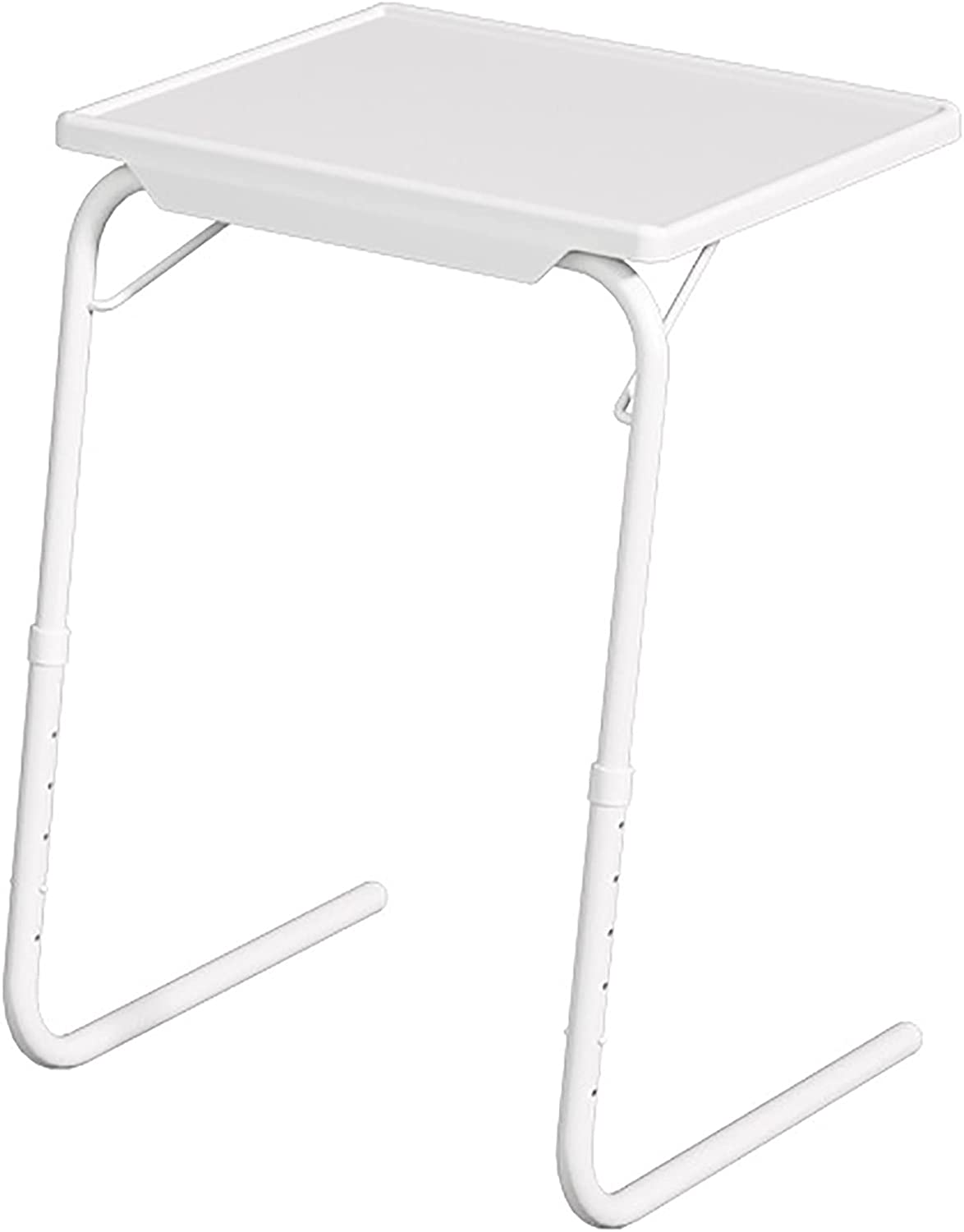 Mail order White tv Trays Table for Eating Dinner Laptop Work Tray Max 59% OFF Folding