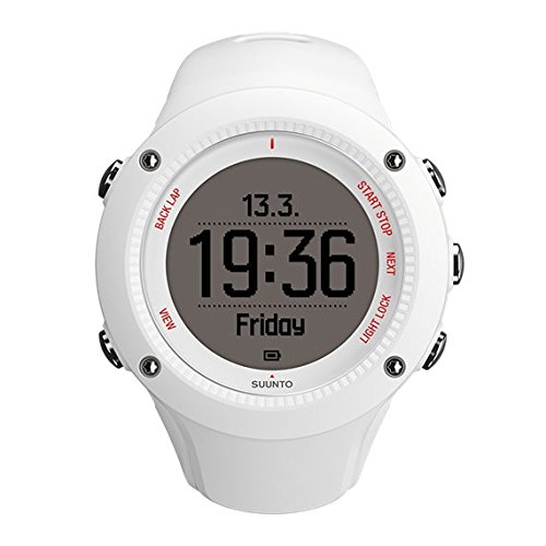 Suunto Damen Armbanduhr Ambit 3 Run, weiß, 50 x 50 x 15,5 mm, SS021258000