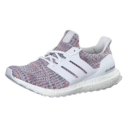 Adidas Men's Ultraboost Running Shoes, White (Ftwr White/Blue), 6.5 UK