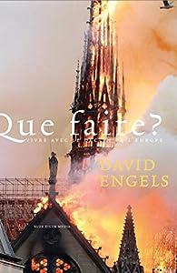 Que faire ? par David Engels
