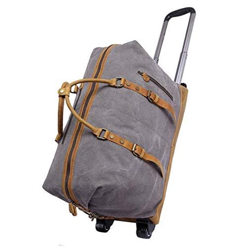 YULAN Verdikke dissel bagagewagen stam canvas mannen grote capaciteit reistas reizen schouder draagbare sling 3 kleuren 55 * 24 * 40 cm