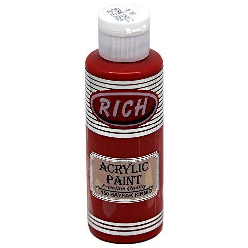 mytorten Pays Rich Opaque acrylique couleur Amazon 130 ml Flagge Rot