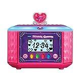 VTech 80-529904 Kidisecrets - Cofanetto portagioie per ragazze con codice segreto, diario elettronico, lettore musicale, ora e sveglia, colore: rosa
