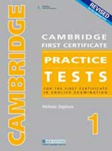 Cambridge First Certificate Practice Tests 1, Package: Student's Book, Audio-CDs, Answer Key...