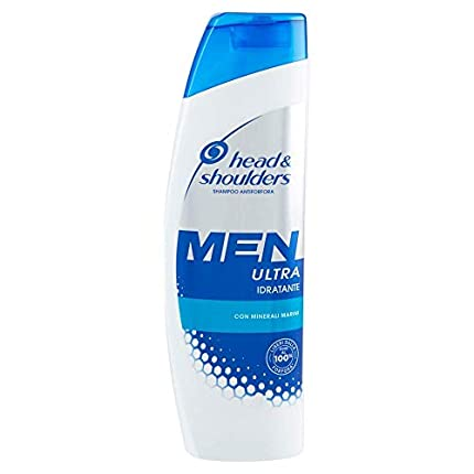 Head & Shoulders Men Ultra Total Care Champú Anticaspa, Paquete de 6 x 225 ml