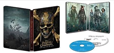 Pirates of the Caribbean Dead Men Tell No Tales 4K Steelbook