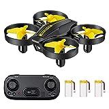 DEVASO Mini Drone per Bambini, Quadricottero RC con Telecomando, Funzione...