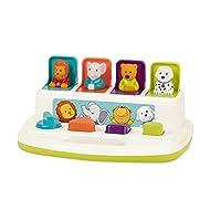 Battat – Pop-Up Pals – Color Sorting Animal Push & Pop Up Toy for Kids 18 Months +