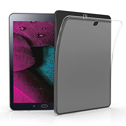 kwmobile Schutzhülle kompatibel mit Samsung Galaxy Tab S2 9.7 - Hülle - Silikon Tablet Cover Case Matt Transparent