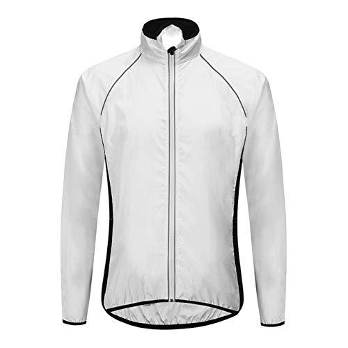 Chaqueta reflectante de ciclismo para hombre, impermeable, para bicicleta de montaña, cortavientos, ropa para montar en bicicleta MTB