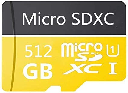 512 Go-a Carte micro SD 512 Go haute vitesse classe 10 micro SD SDXC avec adaptateur