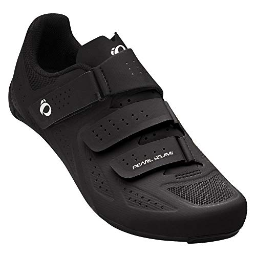 PEARL IZUMI Men's Select Road v5 Cycling Shoe, Black/Black, 48