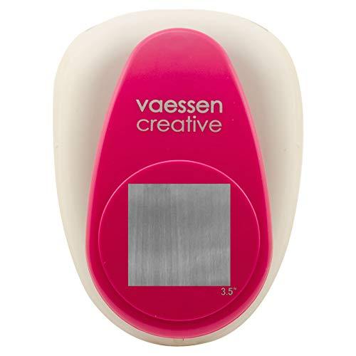 Vaessen Creative Perforadora de Papel, Cuadrado, Talla XXXXL, Para Proyectos DIY, Scrapbooking, Creación de Tarjetas y Más
