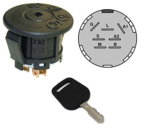 2021new shipping free shipping NEW Ignition Max 52% OFF Starter Switch WITH KEY 532193350 for Husqvarna 19